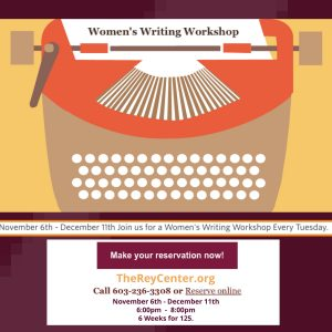New Women's Writing Workshop In Waterville Valley, NH!